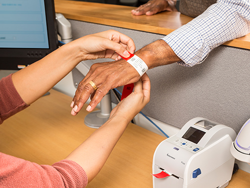 Banding together…Looking for better ways to identify our patients.