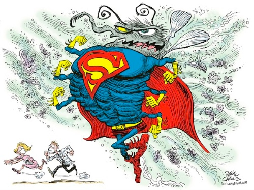 Superbugs should only be in scary movies.
