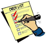 transfer checklist