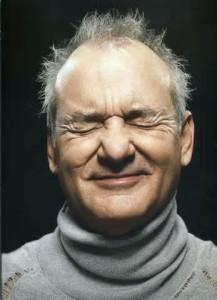 bill murray stressed