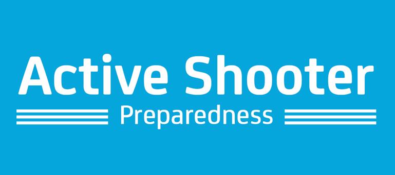 Active shooter scenario as a disaster drill